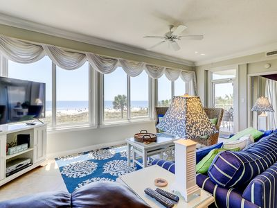 Photo for Waterfront condo with shared hot tub, pool, tennis, and ocean view