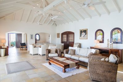 Panoramic View of Living Area