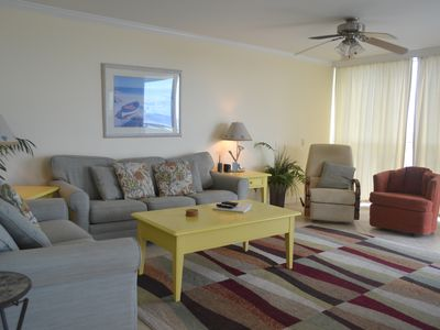 Photo for SeaSpray Perdido Key Unit No. 406 - 3 BR 3 Bath Gulf Front Condo