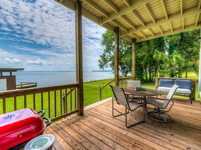 Photo for Luxury Lake Home with Boat House & Dock