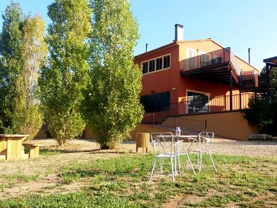 Photo for Comfortable house near Banyoles. Spacious space with barbecue and private pool.