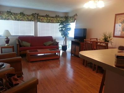 Photo for Bright, Sunny, and Comfortable, First Floor Condo - Best Location - Great Price