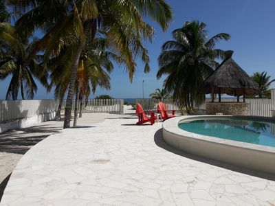Photo for BEACH FRONT VACATION HOME * CIELO COCO/COCO HEAVEN *