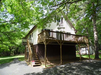 Photo for Perfect Getaway In The Poconos! (House #2) HotTub !! Gameroom !! WiFi !!