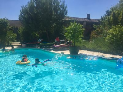 Photo for Idyllic Child Friendly Holiday between Cognac and The Coast
