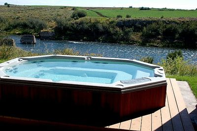 River view from Hot Tub