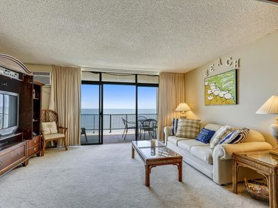Photo for Direct Oceanfront in N. Ocean City - Breathtaking View & Outdoor Pool!
