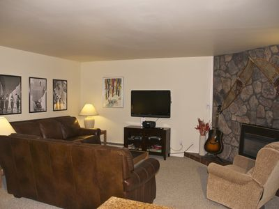 Photo for Large Ski-in/Walk-Out Downtown Ground Floor Family Friendly 2 Bedroom Unit