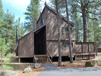 Photo for Come Enjoy This Cabin In The Woods, Hot Tub & Pet Friendly, 8 SHARC PASSES!