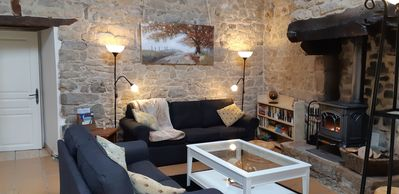Brittany Holiday Cottage Gite with Hot Tub & Sauna - Lescouët-Gouarec
