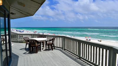 Photo for Panorama - Upper - Beautiful Beachfront Home!  Rent One Level or Two!