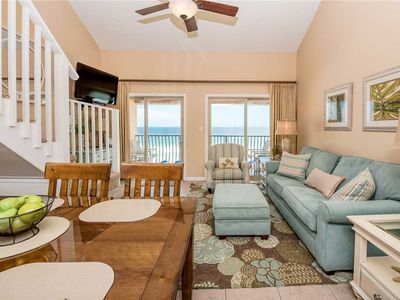 Photo for 35- Behold the beauty of our amazing beaches in this BEACH FRONT condo! Coral Reef Club