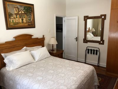 Photo for Large Room with Private Bathroom in the Spacious Copacabana Apartment
