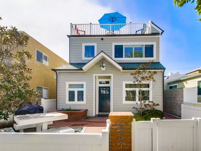 Photo for UPGRADED | CENTRAL AC | Cape Cod Family Beach Home, BBQ, Roof Deck!