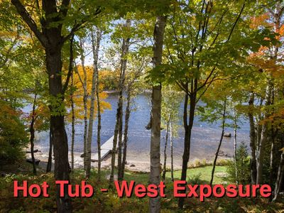 Photo for West Facing Private Cottage Oasis On Beautiful Isabella Lake Near Parry Sound