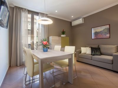 Photo for Practical apartment for 2 or 4 people in the center