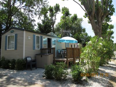 "Photo for Your holiday rental at Mobile Home in ""Prairies De La Mer"" for 5/6 Perssonnes"