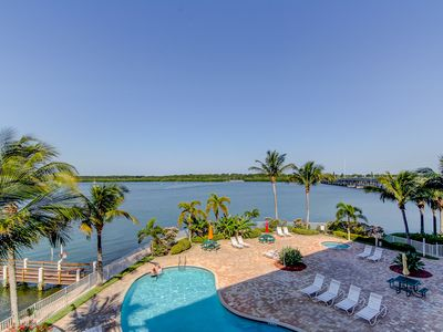 Photo for Waterfront Condo!  Mins to Beach!  Great location!