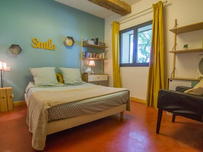 Photo for B & B Mas Fromiga room, between Montpellier and the beaches