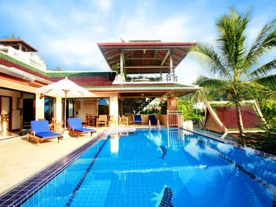 Photo for Luxury 4 Bed Infinity Pool Villa, Chef.
