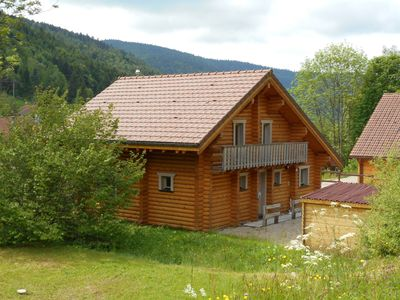 Photo for LOG CHALET - COMFORTABLE, QUIET, SPACIOUS, STRATEGIC SITUATION