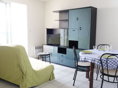 Photo for Apartment 882 m from the center of Vaux-sur-Mer with Internet, Pool, Lift, Balcony (109365)