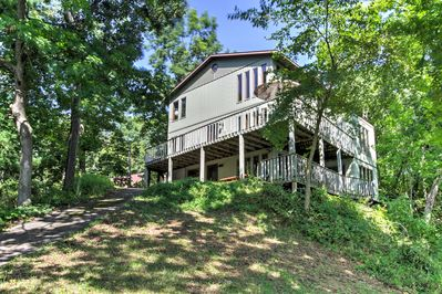Life is better at the lake when you stay at this Waupaca vacation rental home!