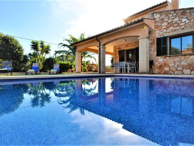 Photo for Calendario 2021 Opened- CASA BRISA Beautiful Mallorquin stone Villa great for familiy holidays - Free Wifi