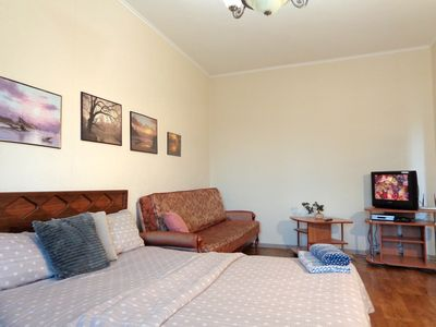 Photo for 1 room apt.City centre. Sports Palace.