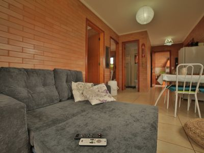 Photo for Ground floor apartment in front of the complete pool and close to the sea!