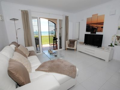 Photo for Dona Lola Sandra - Cozy beach front house with open sea views located in Calahonda only few minutes away from Marbella CS111