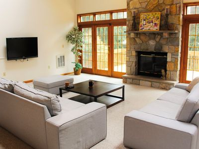 Photo for Rustic Meets Modern, A Vibrant Poconos Oasis.