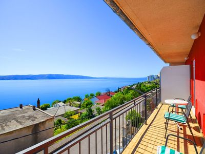 Photo for Holiday apartment with balcony and terrace