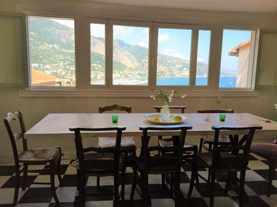 Photo for Menton Historique: artist's house, French charm, magnificent view