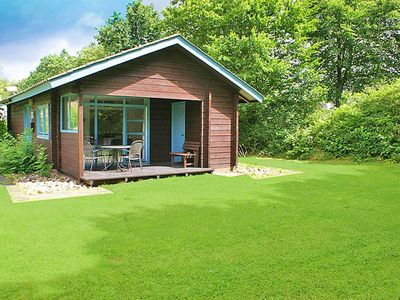 Photo for Log cabin with beautiful plot - covered terrace - log cabin
