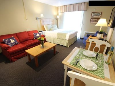 Photo for ON SALE! Riverview Resort (VRI) Studio Timeshare 6/28-7/5/19 ONLY in Cape Cod