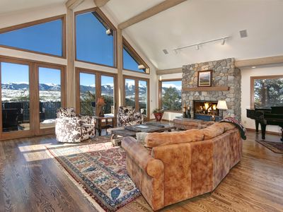 Photo for Luxury Mountain Home with aerial views of Lake Dillon, Silverthorne, and the Tenmile Range