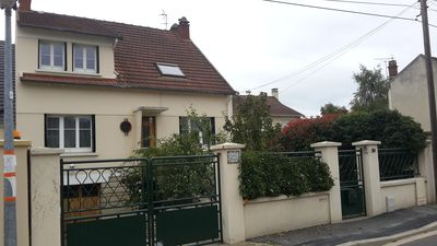 Photo for Family home with garden 18 minutes from Paris (Cormeilles en Parisis)