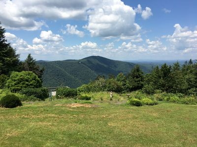 View from Tsuga on the Ridge deck