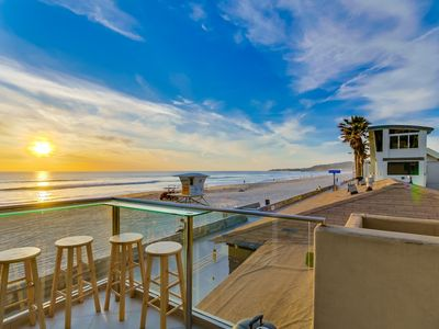 Photo for 2 Story + Ocean Front + AC + Exclusive View Balcony