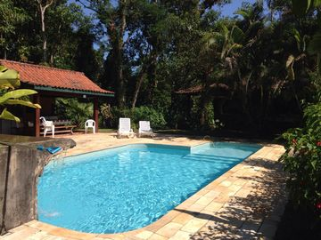 Excellent house with pool in Cond Closed 300mts beach - Ubatuba