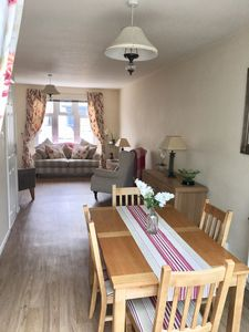 Photo for Seaside cottage, central and quiet with parking. Near golf courses. Sleeps 5
