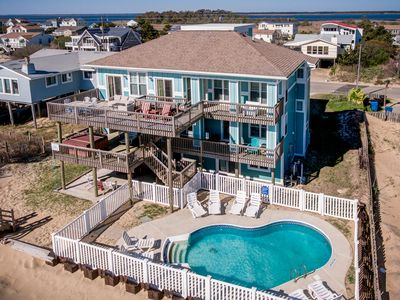 Photo for Shining Star | Oceanfront | Private Pool, Hot Tub