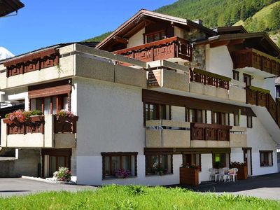 Photo for Apartment Haus Quelle  in Saas Grund, Valais / Wallis - 4 persons, 1 bedroom