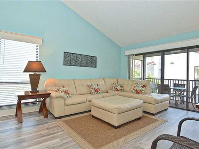 Photo for Siesta Dunes Beach 201, Completely Renovated, 2 Bedrooms, Sleeps 6, Spa, Large Heated Pool, WiFi