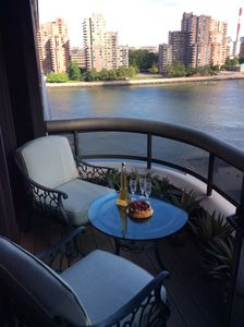 Photo for Your Pied a Terre awaits! Fully appointed 1Br/ 1.5 bath with balcony/ River view