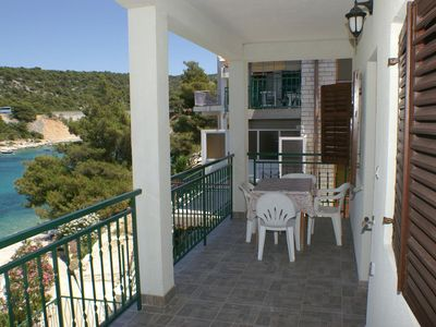 Photo for One bedroom apartment near beach Bilo (Primošten)
