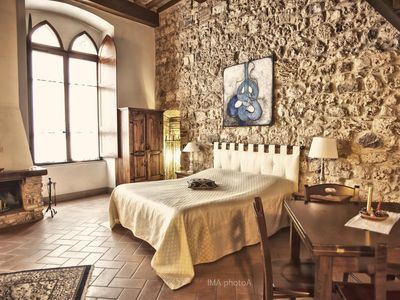 Photo for Holiday apartment Massa Marittima for 1 - 3 persons - Castle