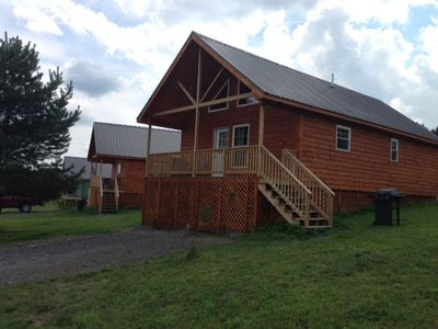 Photo for Double Play Cabins 4 - Only 3 Miles To Dreams Park & 5 Miles To Cooperstown