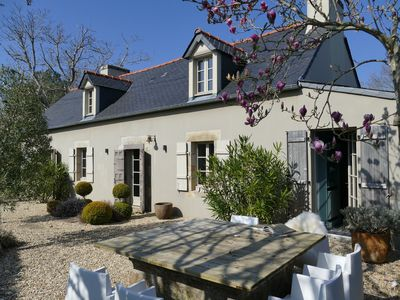 Photo for Exclusively renovated farmhouse in southern Brittany